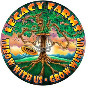 Legacy Farms Disc Golf logo